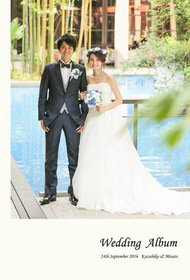 ウィズザスタイル福岡での前撮りから披露宴までと新婚旅行をまとめた結婚式アルバムです。結婚式アルバム。
