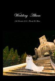 アニヴェルセル東京ベイのイタリア館での挙式と披露宴です。結婚式アルバム。