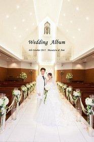 素敵な結婚式アルバム届きました。結婚式アルバム。