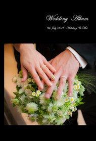 オーベルジュ ド リル サッポロにてガーデンチャペルで挙式を挙げられたお二人。結婚式アルバム。