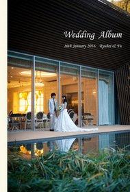 お世話になります。結婚式アルバム。