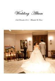 【挙式・披露宴】 6年前の2011年の結婚式のアルバムです。データがあればアルバムはいつでも作れます。