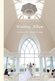 【ハワイ挙式・国内披露宴・ロケーション撮影・新婚旅行】 入籍や挙式後のパーティーなど全てをまとめた結婚式アルバムです。。結婚式アルバム。